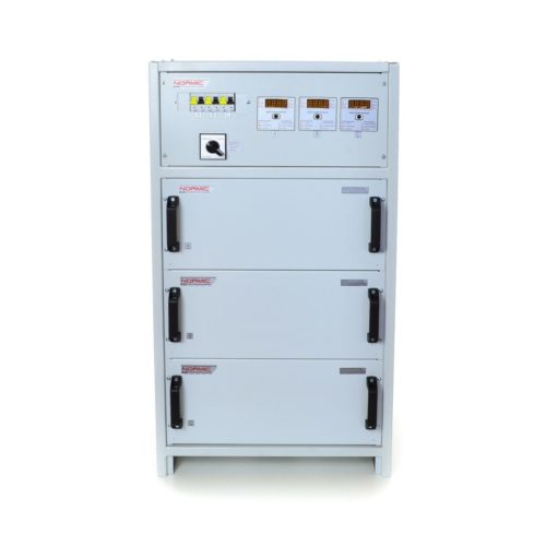Стабилизатор напряжения трехфазный HHCT NORMIC 3×17 кВт 80А (10-0)