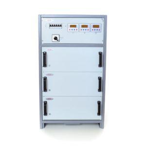 Стабилизатор HHCT SHTEEL 3x27 кВт 125А (7-7) INFINEON трехфазный