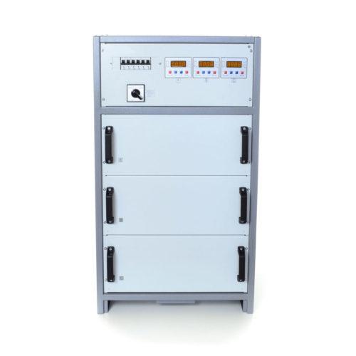 Стабилизатор напряжения трехфазный ННСТ CALMER (INFINEON) 3×22 кВт 100А WEB (3-17)