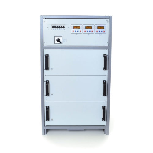 Стабилизатор напряжения трехфазный ННСТ CALMER (INFINEON) 3×27 кВт 125А WEB (3-23)